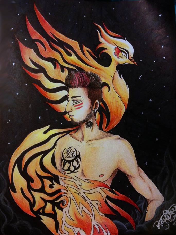 Agnidev the Fire God by ItachixKisame