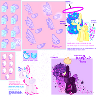 Lunar dream ponies (UPDATED) (Open species)