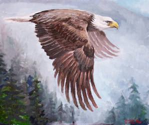 Eagle Intensity by Arcana-Magus