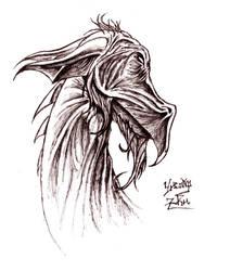 Elder Dragon by Arcana-Magus