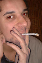 He dont smoke DOES he by dcrad