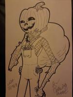 Inktober Day 31: Spirit of Halloween by WardenDarkwingArtist
