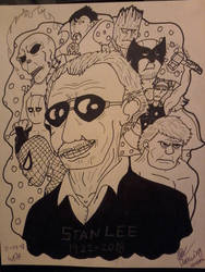 Excelsior RIP Stan Lee by WardenDarkwingArtist