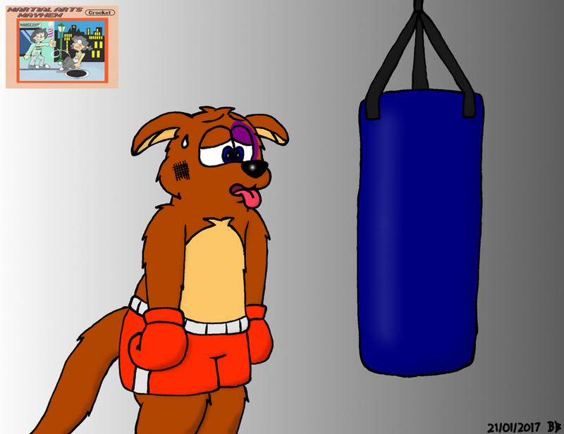 Boxing Kangaroo by BruBadger