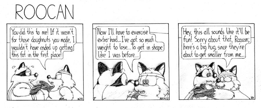 Roocan Strip 216 by BruBadger