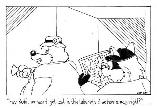 Beryl and Rubi Cartoon