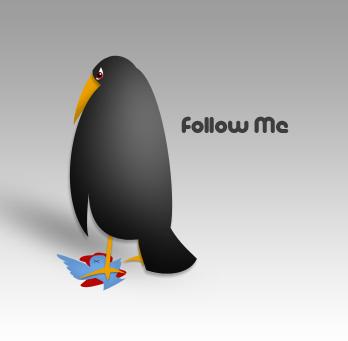 follow me twitter by ozbiljnik