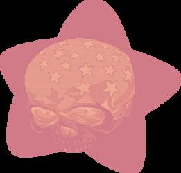 STAR SKULL by Glumentia
