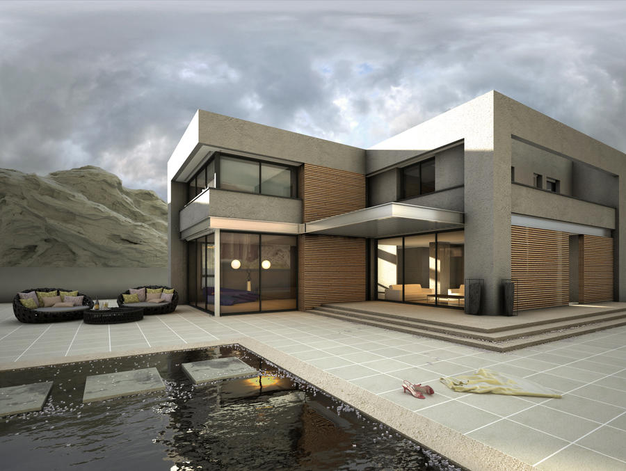 3d Exterior By Aysthesis On Deviantart
