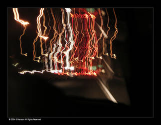Night Car Lights by subsequentzero