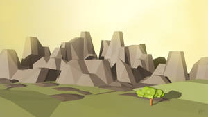 My First low poly 3d art by mckuzi