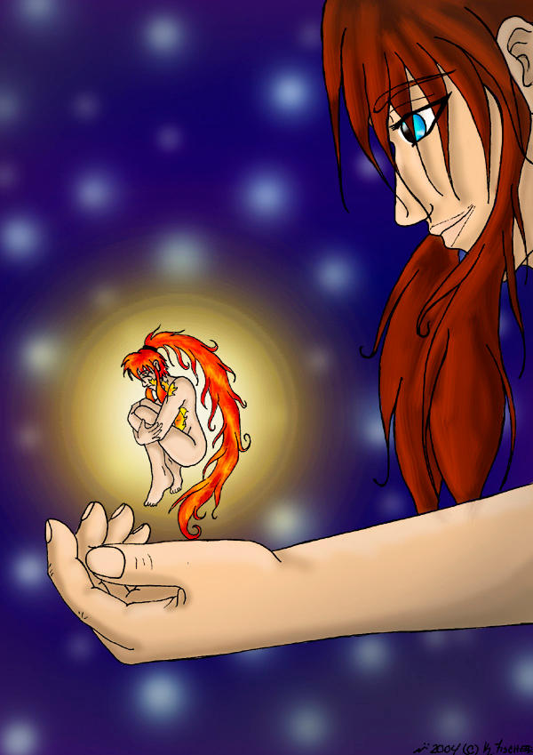 He holds my life in his hands by DragonsLust