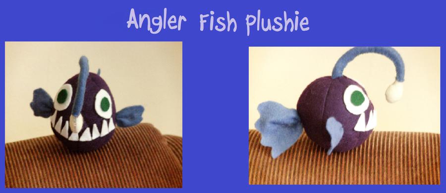 Angler fish plushie by xxxnekoxbakaxxx on deviantart for Angler fish toy