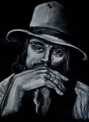 Johnny Depp by DarkHorse918