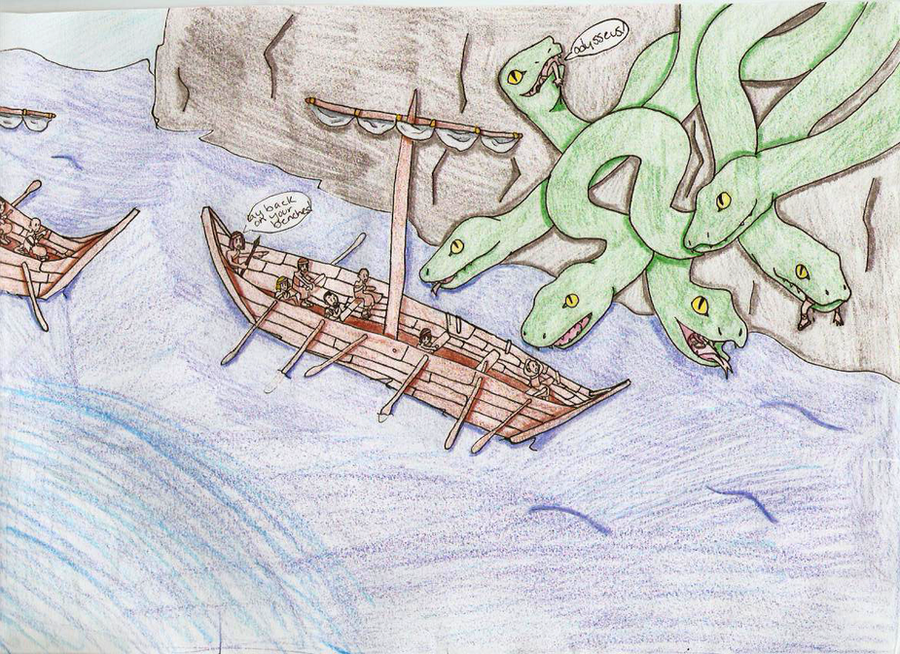 odyssey scylla and charybdis essay The odyssey - the odyssey study guide - questions for review  we will write a custom essay sample on the odyssey  being between scylla and charybdis is an.