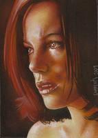 Kate Beckinsale by JeffLafferty