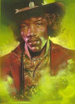 Jimi Hendrix by JeffLafferty