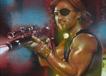 Snake Plissken 2 - Sketch Card
