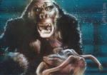 King Kong - Double Sketch Card