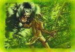 Tarzan Battles The Ape