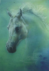 Ghost Horse by JeffLafferty
