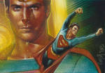 Christopher Reeve as Superman, Double Sketch Card