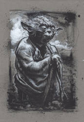 Yoda Jedi Master by JeffLafferty