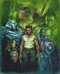 Wolverine Faux Movie Poster