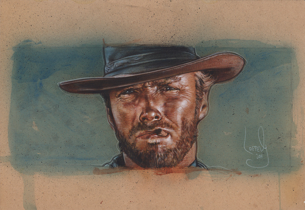 Clint Eastwood Painting By Jefflafferty On Deviantart