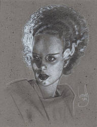Bride of Frankenstein by JeffLafferty