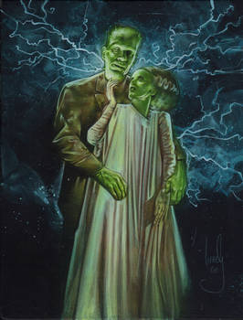 Frankenstein and Bride