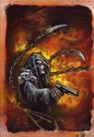 Grim Reaper Comic Cover Commission