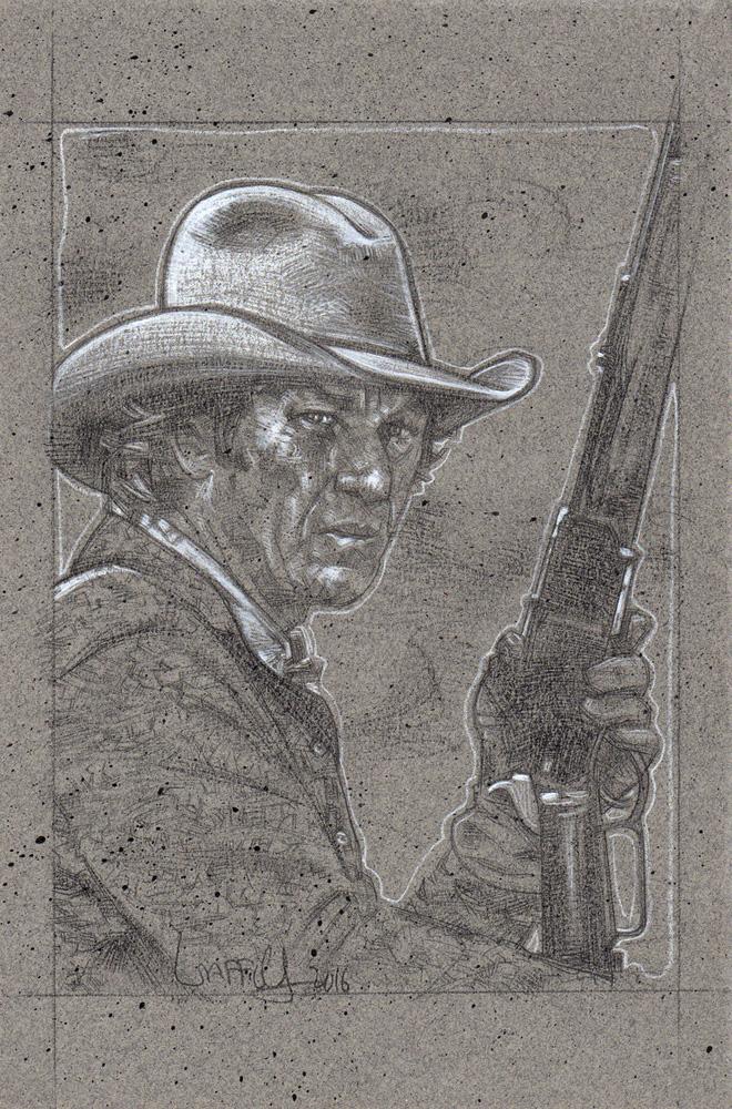 Steve McQueen as Tom Horn by JeffLafferty