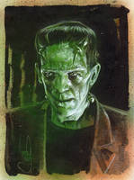 Frankenstein's Monster by JeffLafferty
