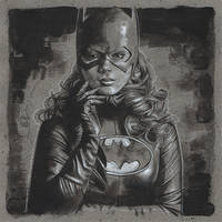 Batgirl by JeffLafferty