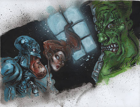 Berserkonaut Art - Issue 2 / Page 2 / Panel 2