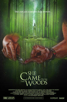She Came From The Woods - Movie Poster