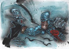 Punch Out - Berserkonaut Art