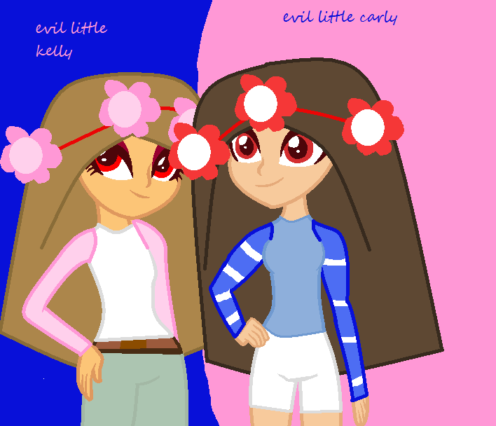 Evil Little Kelly And Evil Little Carly By