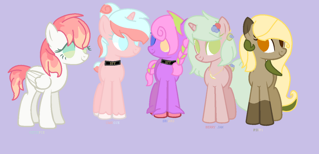 Old OCs by macattackforever