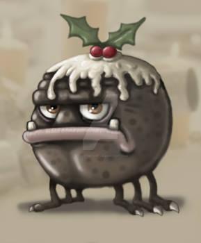 Chrismas Pudding Monster 2011