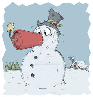 Snowman with Dynamite Nose 2011