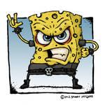 Sponge Bob Re-imagined by Stuart McGhee