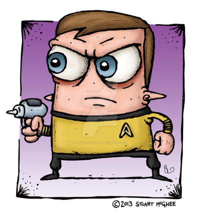 James T Kirk by stuartmcghee