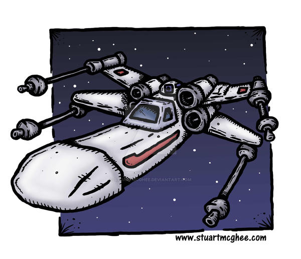 X-Wing by stuartmcghee