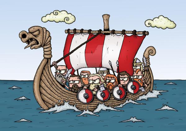 Vikings by stuartmcghee