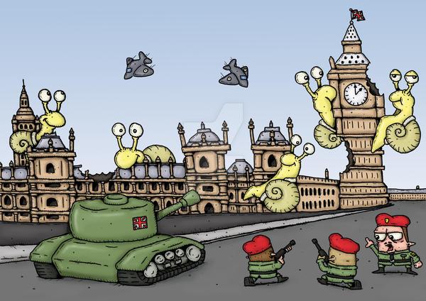 Westminster Snails by stuartmcghee