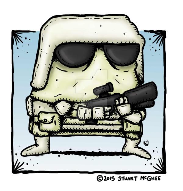 Snowtrooper by stuartmcghee