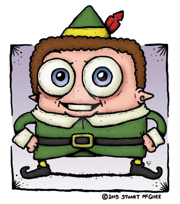 Buddy Hobbs (The Elf) by stuartmcghee