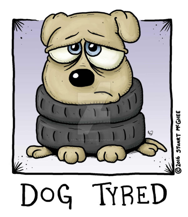 Dog Tyred by stuartmcghee